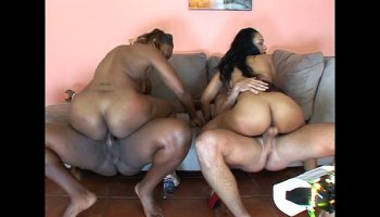 Three Hot Ghetto Fat Booty Sluts Fucked